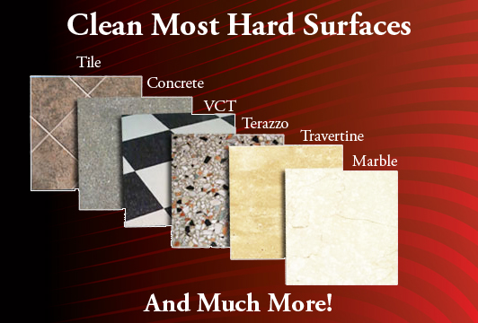 Clean most hard surfaces and much more!